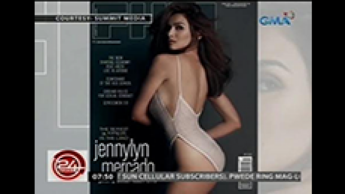 Jennylyn is <em>FHM</em>'s first cover girl for 2016