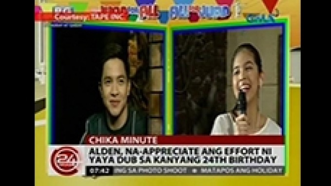 Is this AlDub's first LQ for 2016?