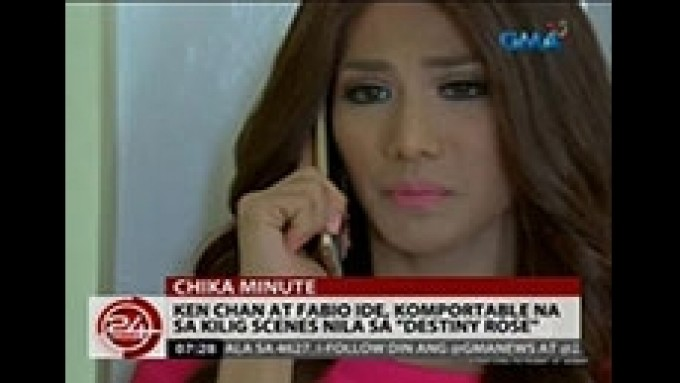 """Ken Chan and Fabio Ide comfortable with their """"kilig scenes"""""""