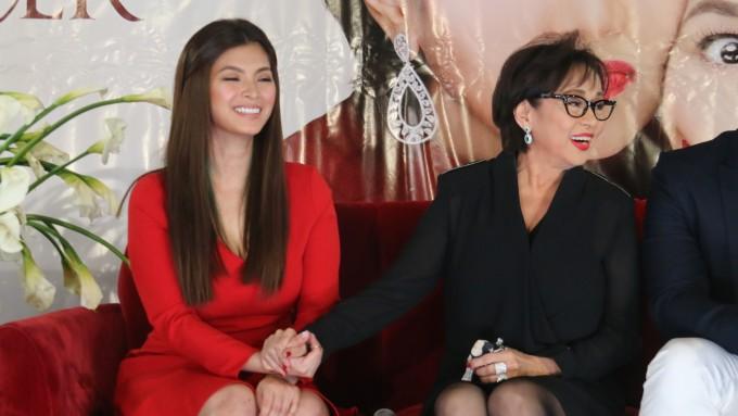Angel Locsin bows to Vilma Santos acting