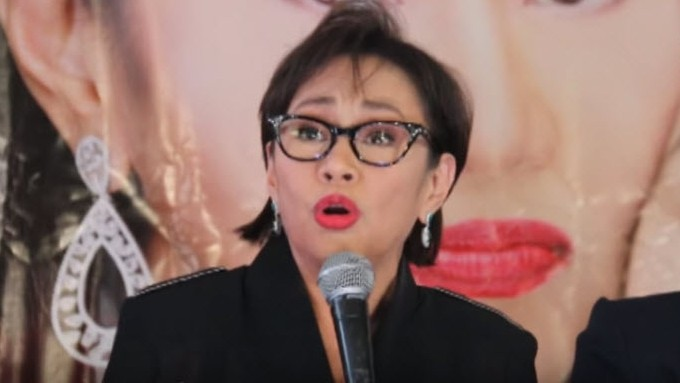 Vilma Santos: No ICU scene please!