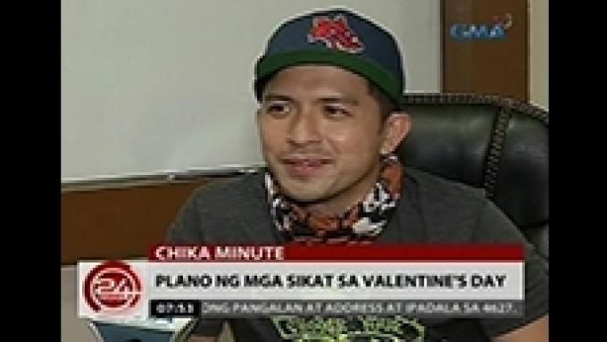 Lovi Poe unsure on Valentine's Day with Rocco Nacino