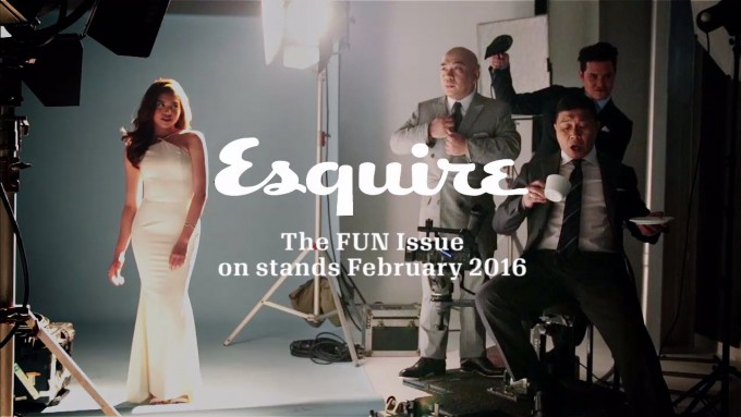 Maine Mendoza, JoWaPao on the cover of Esquire