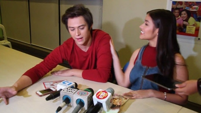 Liza Soberano regrets slapping Enrique Gil on the shoulder