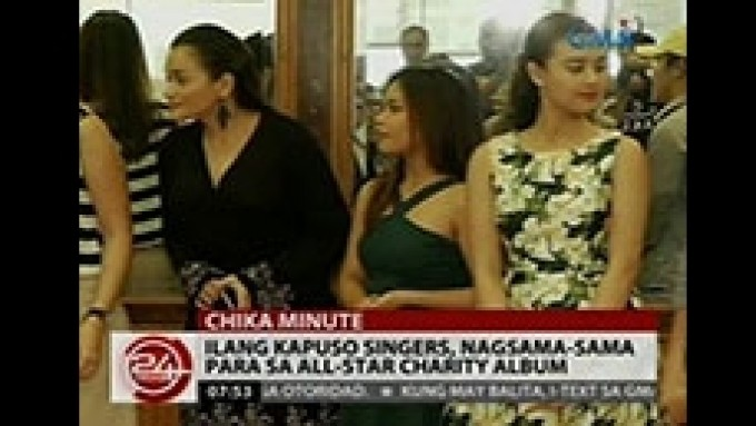 Kapuso singers release all-star charity album on V-Day