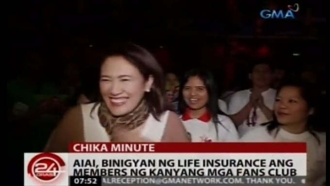 Ai-Ai delas Alas at very first fans day