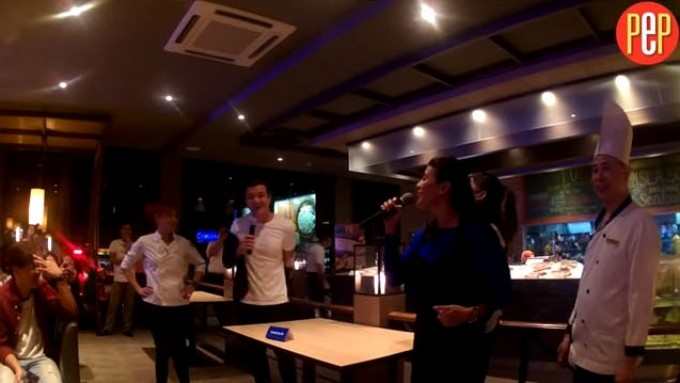 Jericho Rosales, Mylene Dizon cook-off in Cebu