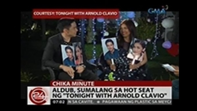 AlDub answer question from a fan