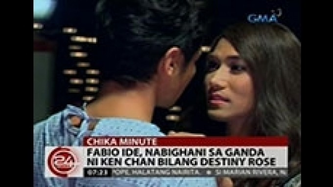 Fabio Ide fell in love with Destiny Rose