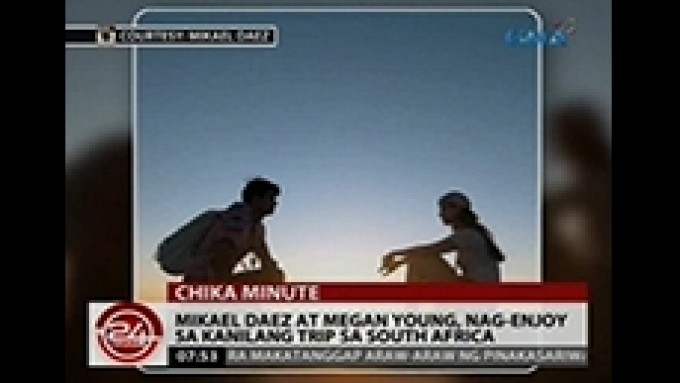 Mikael Daez and Megan Young's South Africa trip