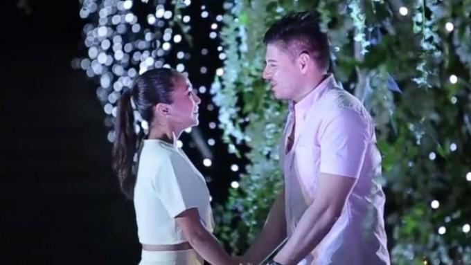 Rochelle Pangilinan-Arthur Solinap engagement video