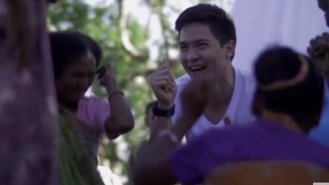 Alden Richards gives back video