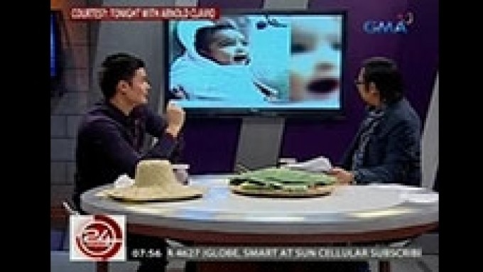 Baby Zia's voice is heard for the first time