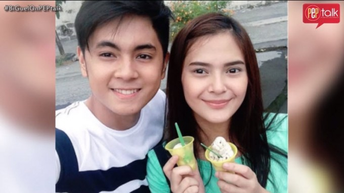 The huffy one between Bianca Umali and Miguel Tanfelix