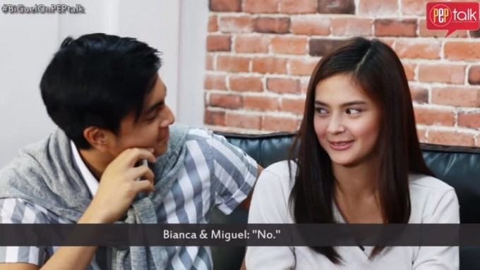 Bianca Umali and Miguel Tanfelix, together almost every day
