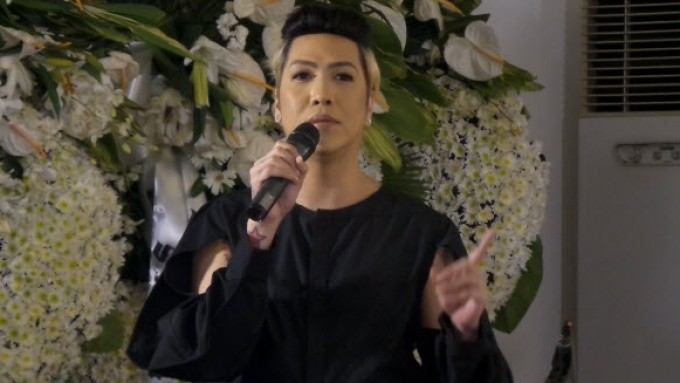 Vice Ganda's eulogy for Direk Wenn