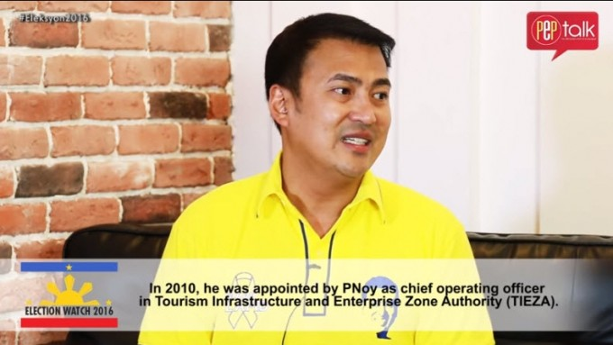 Mark Lapid aims to strengthen tourism industry