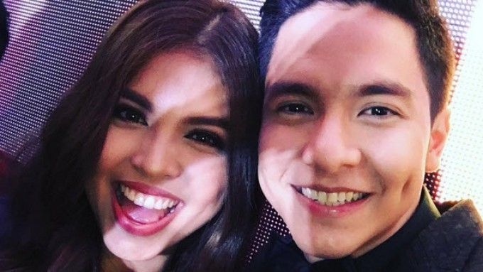 Alden Richards's lola and sis like Maine Mendoza