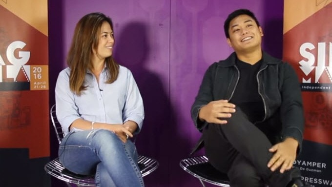 Dyamper stars Liza Diño and Alchris Galura