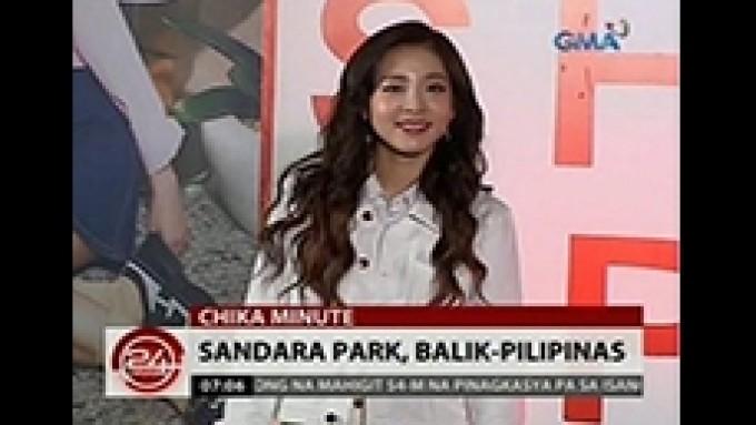 Sandara Park sings Regine Velasquez's 'Dadalhin'