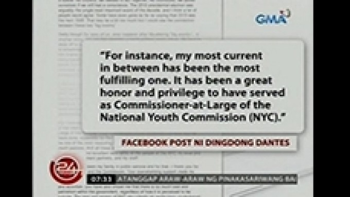 Dingdong Dantes resigns as NYC Commissioner-At-Large