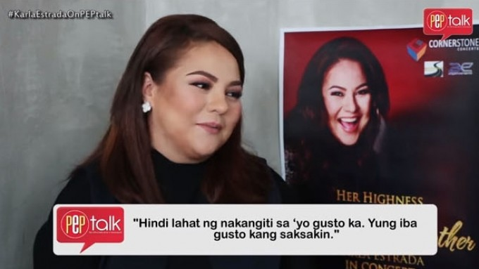 Karla Estrada tells her children to always be wary