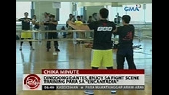Dingdong Dantes undergoes fight training