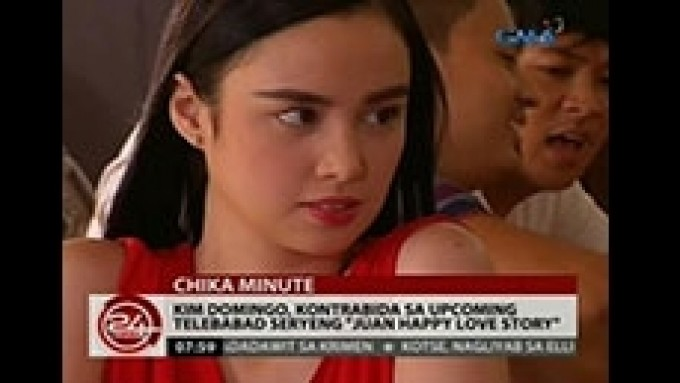 How water and crackers help Kim Domingo