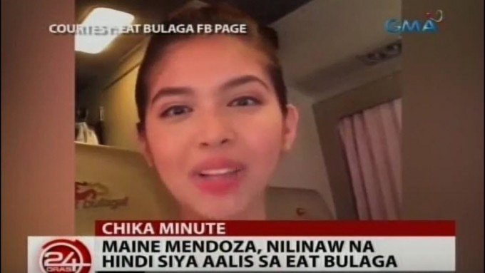 Maine Mendoza denies leaving <em>Eat Bulaga</em>
