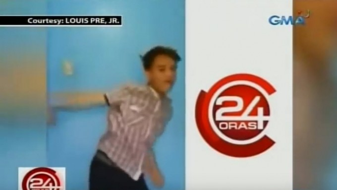 Young man dancing to '24 Oras' musical scoring becomes viral