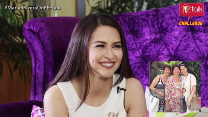 Marian Rivera does impromptu introduction challenge