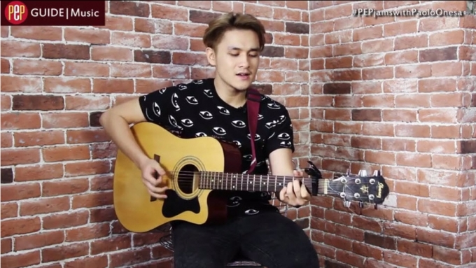 Paolo Onesa covers 'Jealous'
