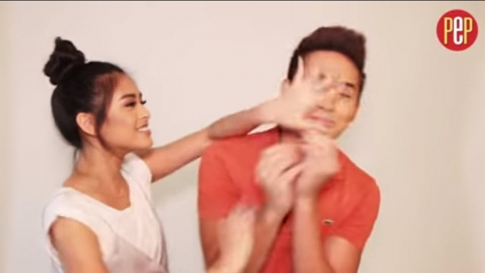 Watch how Gabbi Garcia beat Ruru Madrid in this challenge