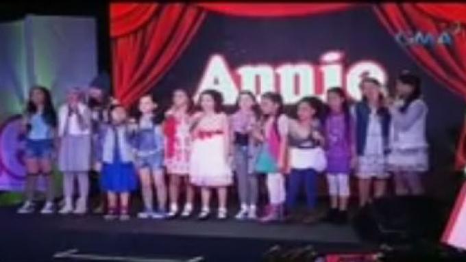 New 'Annie' child actors start preparing for September run