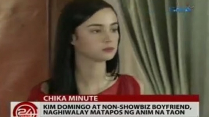 Kim Domingo splits up with boyfriend of six years