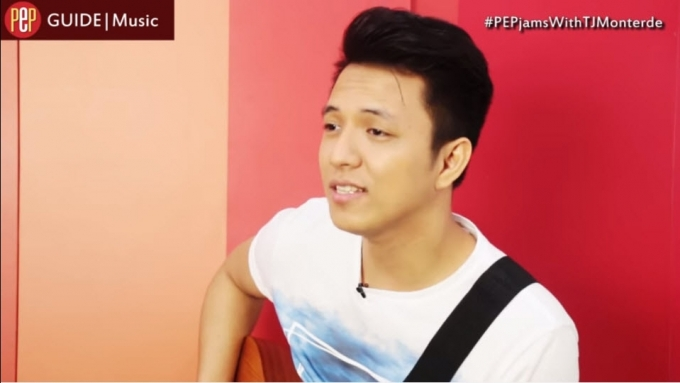 TJ Monterde's song for a 'princess'