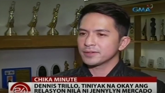 Dennis assures fans relationship with Jennylyn is OK