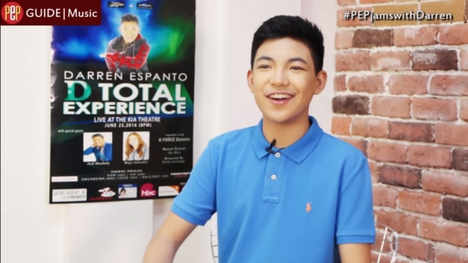 Watch a more mature Darren Espanto on 'D Total Experience'