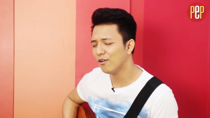 The song that makes TJ Monterde feel good