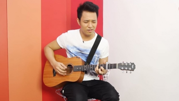 TJ monterde sings 'The Scientist'