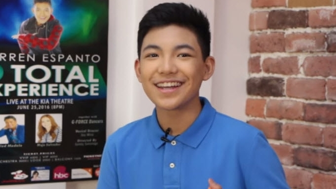 Darren Espanto's reaction to The Voice Kids 2016 audition