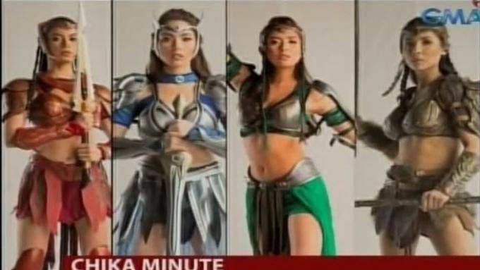 'Encantadia' cast prepares for big battle scene