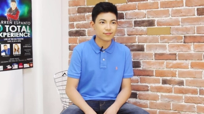 Darren Espanto would like to try acting