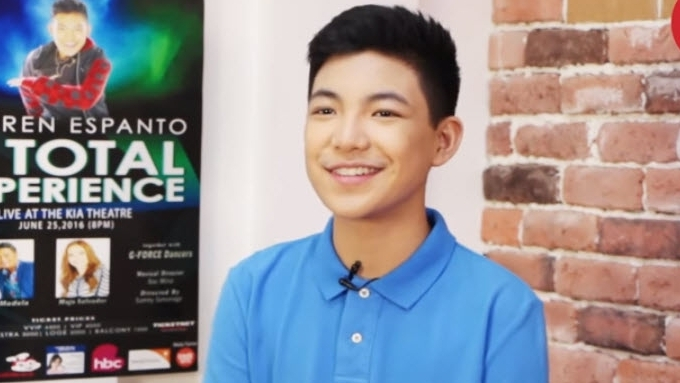 Darren Espanto really reacts to fans on social media