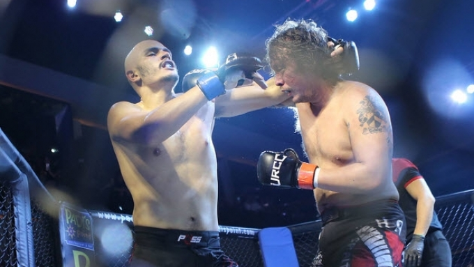 Baron Geisler and Kiko Matos fight to a unanimous draw