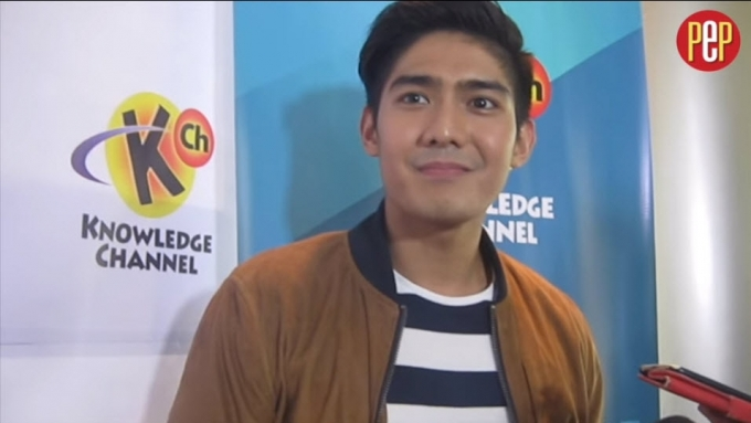 Robi Domingo remembers kissing scene with Andi Eigenmann