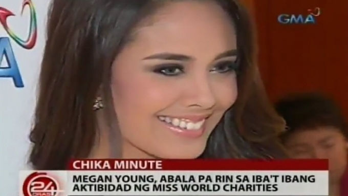 Megan Young still present in Miss World Charities events