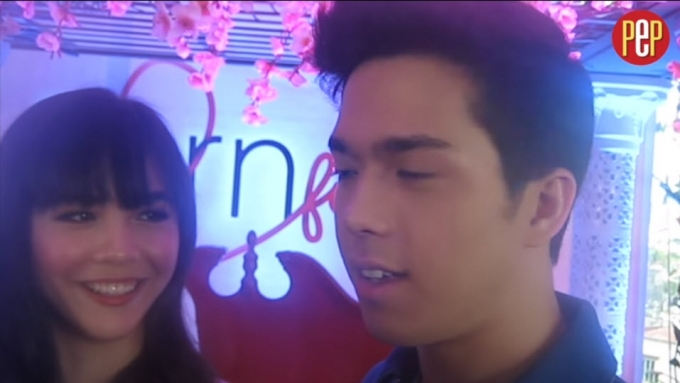 Elmo Magalona is very careful with Janella Salvador