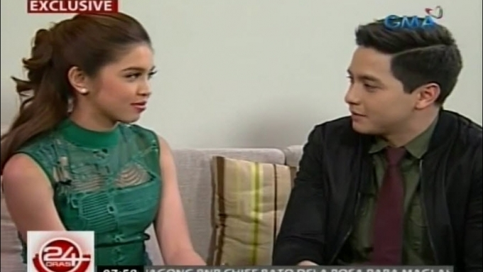Maine Mendoza and Alden Richards thank each other once again