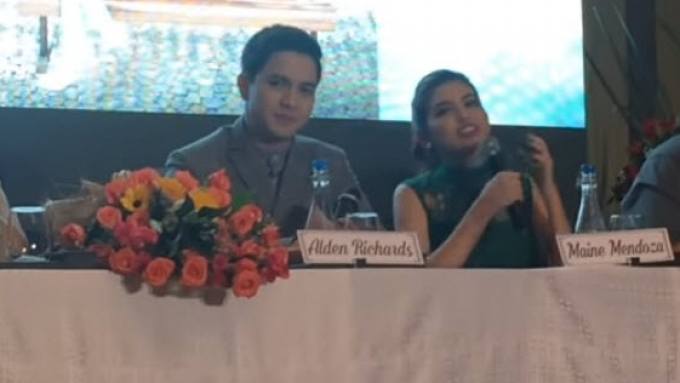 Alden Richards, Maine Mendoza have a message to bashers